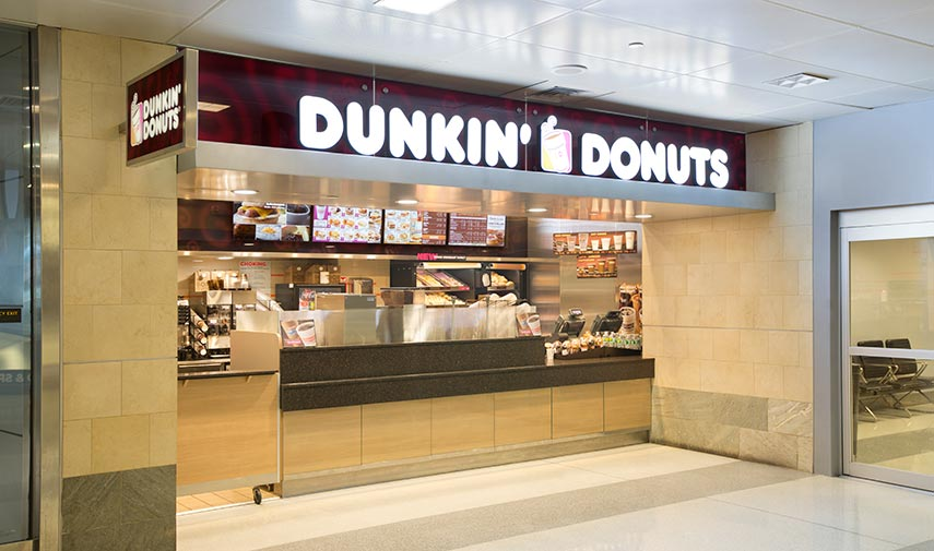 Dunkin' Donuts storefront image