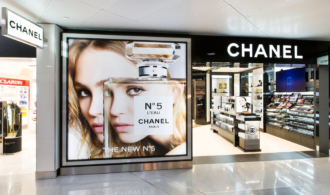 Chanel storefront image